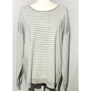 Calvin Klein Large Striped Sweater, XL - New!